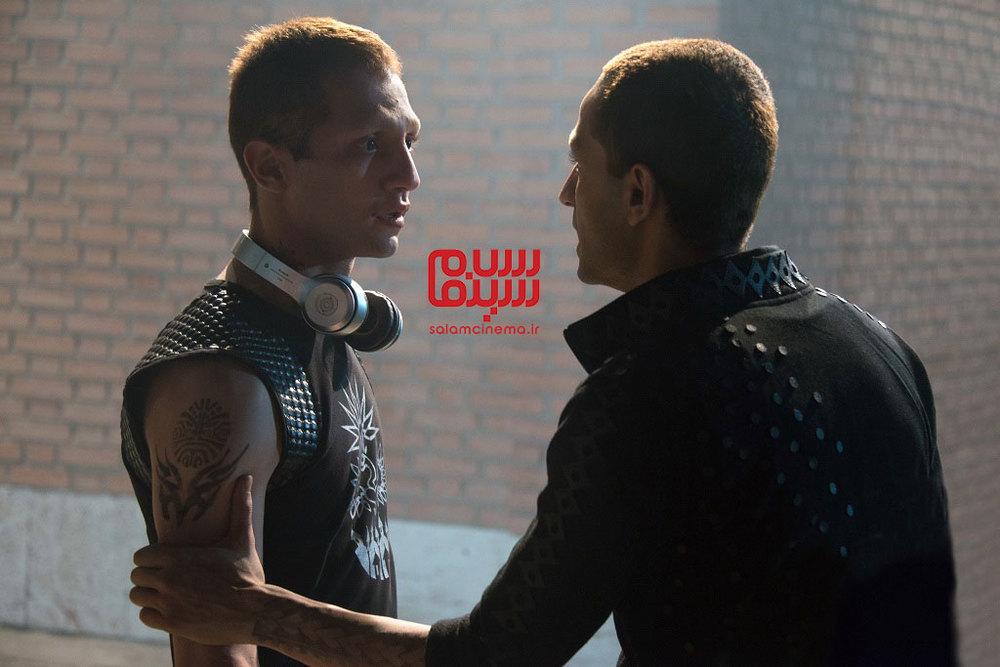 عبد آبست و سجاد تابش در فیلم «هجوم»