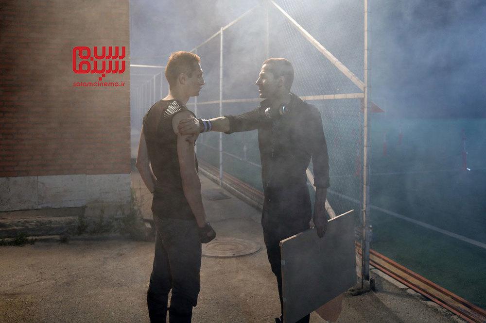 عبد آبست و سجاد تابش در فیلم سینمایی «هجوم»
