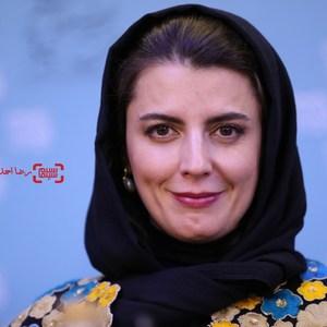 لیلا حاتمی در نشست خبری فیلم «رگ خواب» در سی و پنجمین جشنواره فیلم فجر
