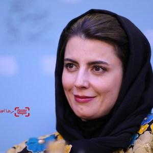 لیلا حاتمی در نشست خبری «رگ خواب» در سی و پنجمین جشنواره فیلم فجر