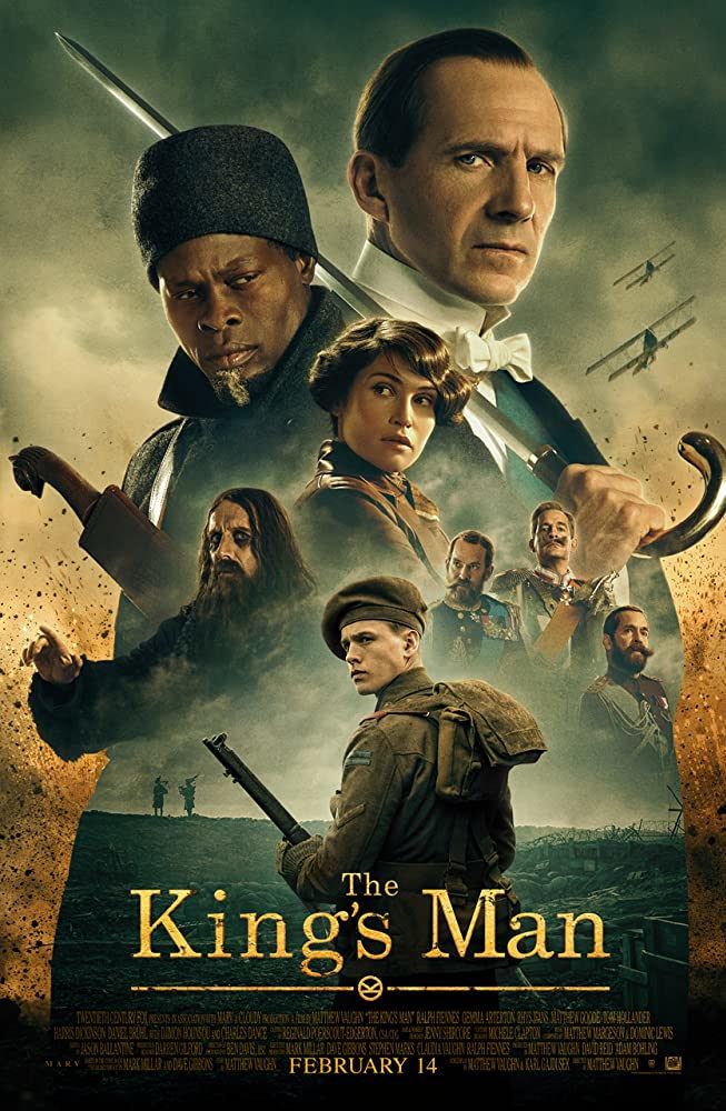 پوستر فیلم «کینگزمن» (The King's Man)