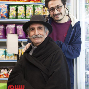 فرهاد آئیش و عرفان ابراهیمی در فیلم «بازی دو نفره»