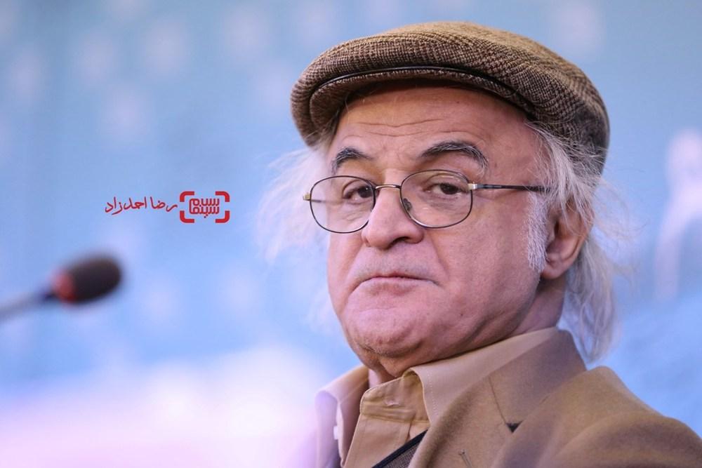 فریدون جیرانی در نشست خبری «خفه گی» در سی و پنجمین جشنواره فیلم فجر