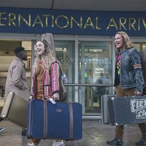 ویل فرل و ریچل مک آدامز در فیلم سینمایی «مسابقه آواز یوروویژن: داستان حماسه آتش» (Eurovision Song Contest: The Story of Fire Saga)