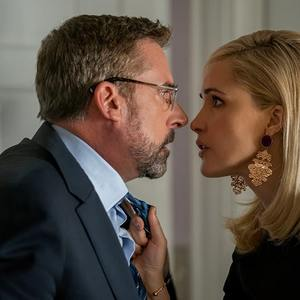 استیو کارل و رز بیرن در فیلم سینمایی «وسوسه انگیز» (Irresistible)
