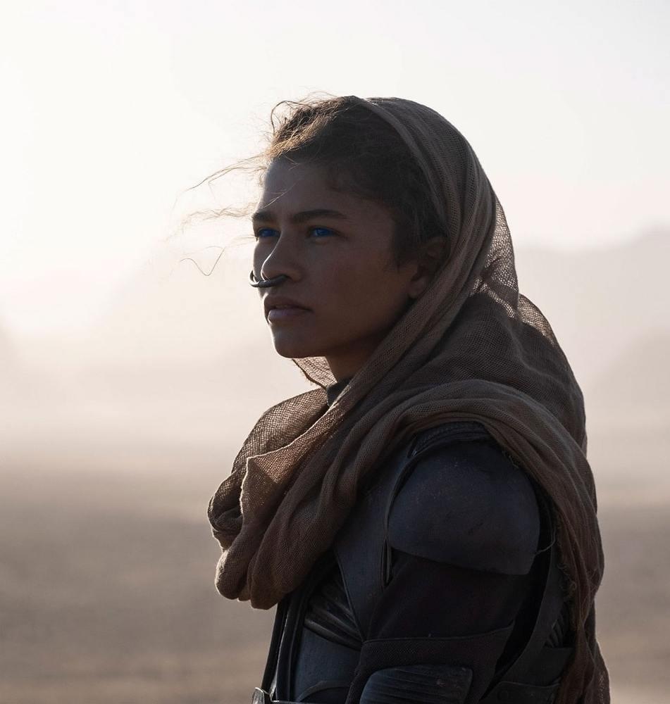 زندیا کلمن در فیلم «تل ماسه» (Dune)