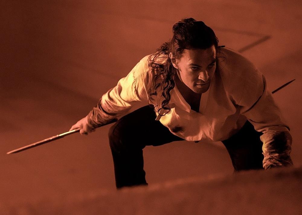 جیسون موموآ در فیلم «تل ماسه» (Dune)