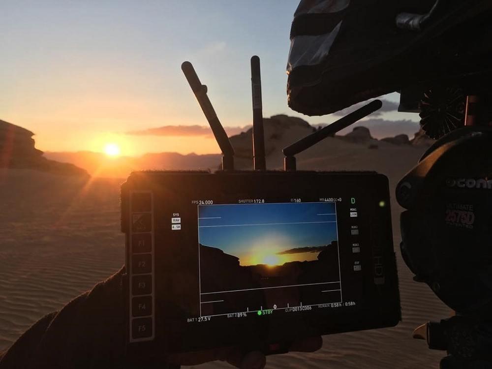 پشت صحنه فیلم «تل ماسه» (Dune)