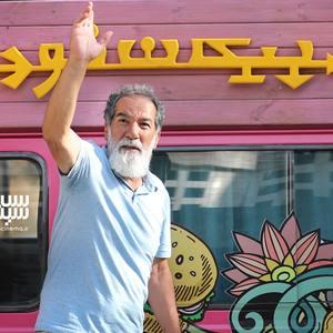 سعید سهیلی در پشت صحنه فیلم «گشت ارشاد»