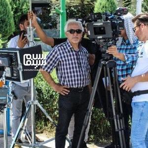 باقر پیران در پشت صحنه سریال «دخترم نرگس»