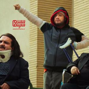 محمدرضا شریفی نیا، میرطاهر مظلومی و علی صادقی در فیلم «زن ها فرشته اند 2»