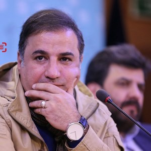 علی سلیمانی در نشست خبری فیلم «اشنوگل» در سی و پنجمین جشنواره فیلم فجر