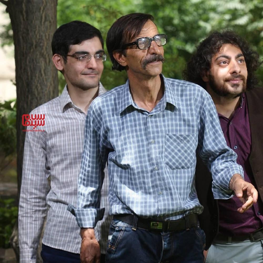 سعید هاشمی، صفرعلی کوهی و سید مسعود حسینی در سریال «شمعدونی»