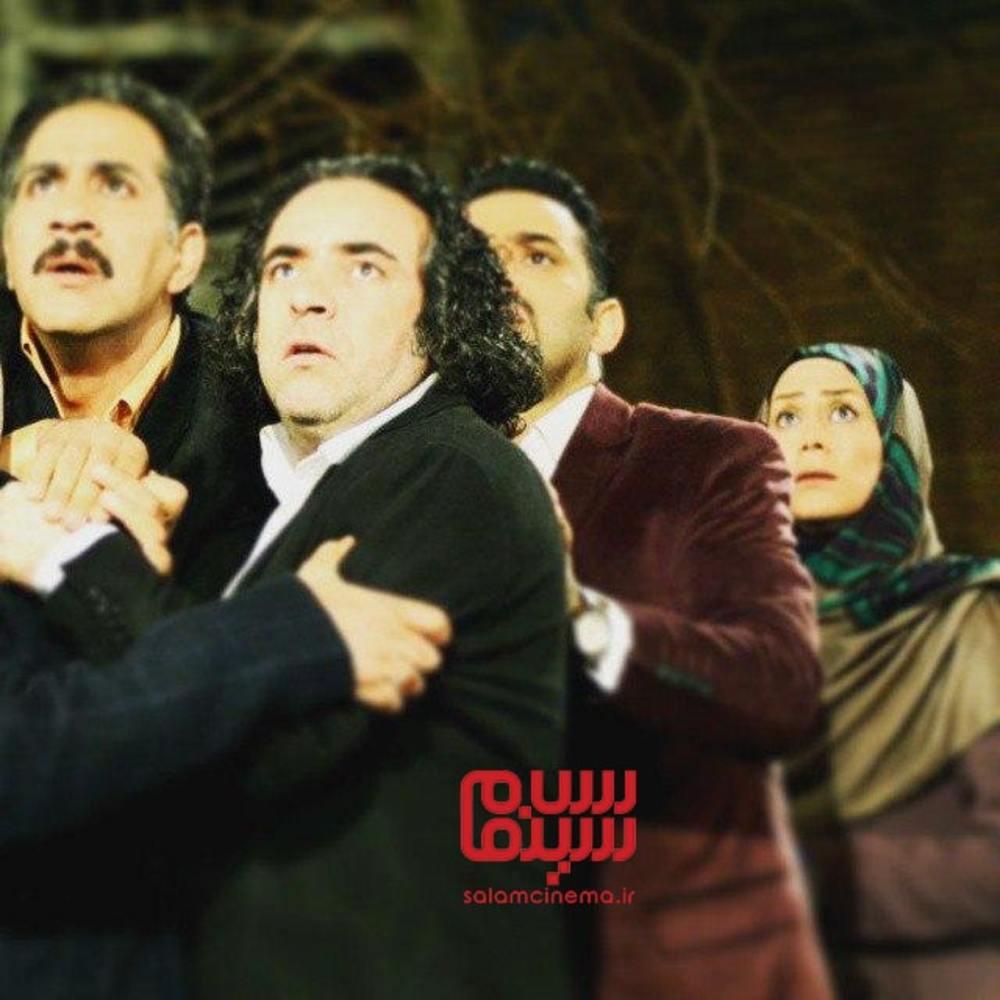 حسن معجونی، محمد نادری و مرجان هاشمی در سریال «شمعدونی»
