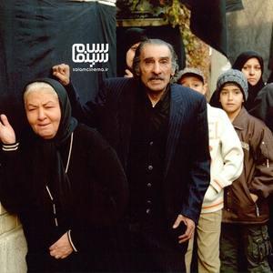 انوشیروان ارجمند و مینا جعفرزاده در فیلم «کیفر»