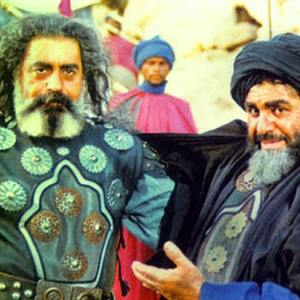 بهزاد فراهانی و مهدی فتحی در سریال «امام علی»