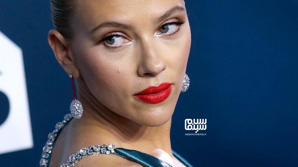 اسکارلت جوهانسون در مراسم انجمن بازیگران آمریکا 2020