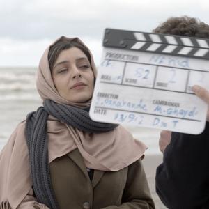 ساره بیات در پشت صحنه فیلم «ناهید»