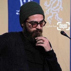 میرسعید مولویان در نشست خبری فیلم «تومان» در سی و هشتمین جشنواره فیلم فجر