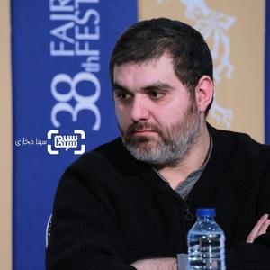 مرتضی فرشباف در نشست خبری فیلم «تومان» در سی و هشتمین جشنواره فیلم فجر