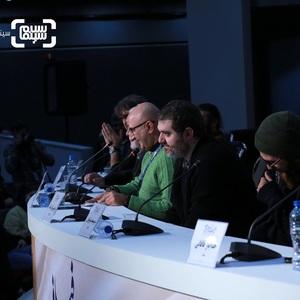 نشست خبری فیلم «تومان» در سی و هشتمین جشنواره فیلم فجر