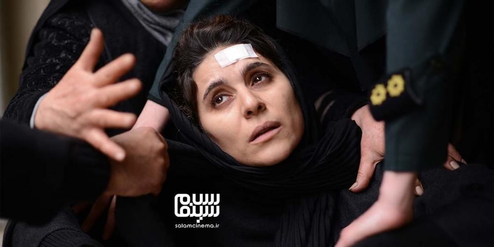 سحر دولتشاهی در فیلم «خط فرضی»