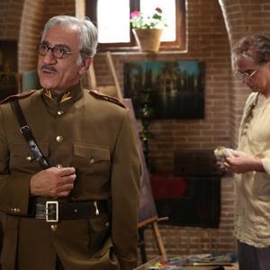 مسعود رایگان و مهدی احمدی در سریال «بوم و بانو»