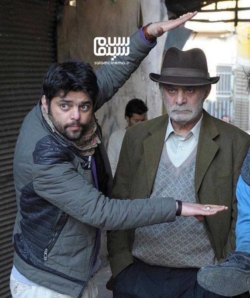 شاهد احمدلو و سیروس گرجستانی در پشت صحنه سریال «سه دونگ سه دونگ»