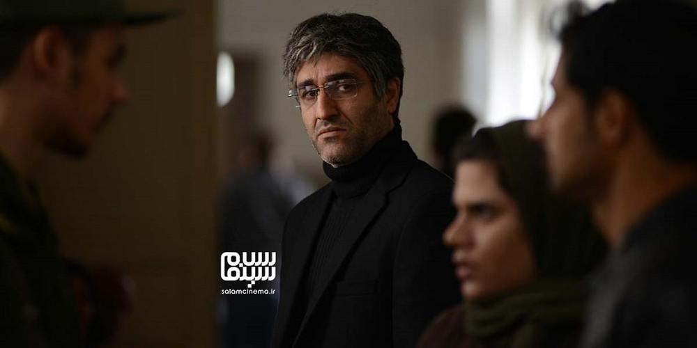 پژمان جمشیدی در فیلم «خط فرضی»