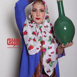 فاطمه گودرزی در شب سوم «شام ایرانی»
