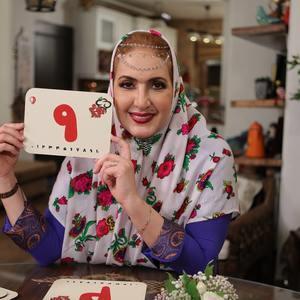 فاطمه گودرزی در شب سوم رئالیتی شوی «شام ایرانی»