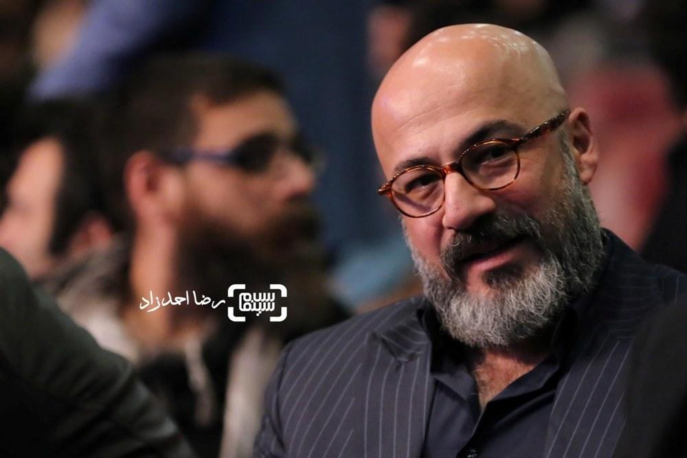امیر آقایی نامزد سیمرغ بهترین بازیگر مرد برای فیلم «بدون تاریخ، بدون امضا» در اختتامیه سی و پنجمین جشنواره فیلم فجر