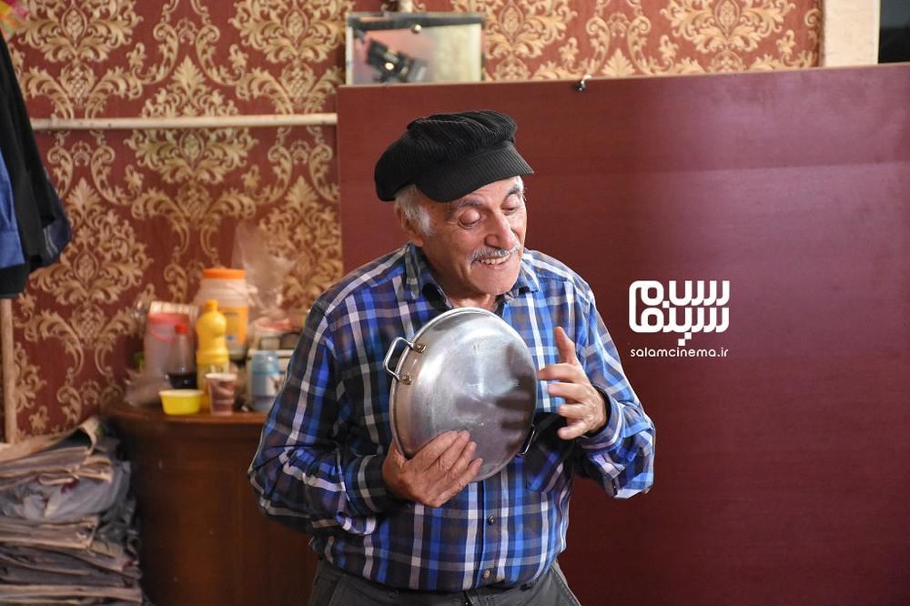 عزت اله رمضانی فر در فیلم «آپارتمان آقای هنرپیشه»