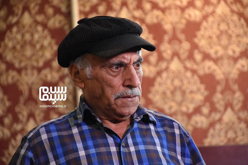 عزت اله رمضانی فر در فیلم سینمایی «آپارتمان آقای هنرپیشه»