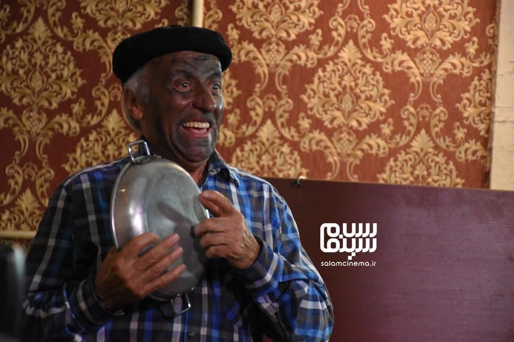 عزت اله رمضانی فر در «آپارتمان آقای هنرپیشه»