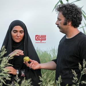 حسام منظور و سارا رسول زاده در سریال «نجلا»