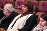 زهرا داوودنژاد در اختتامیه سی و پنجمین جشنواره فیلم فجر