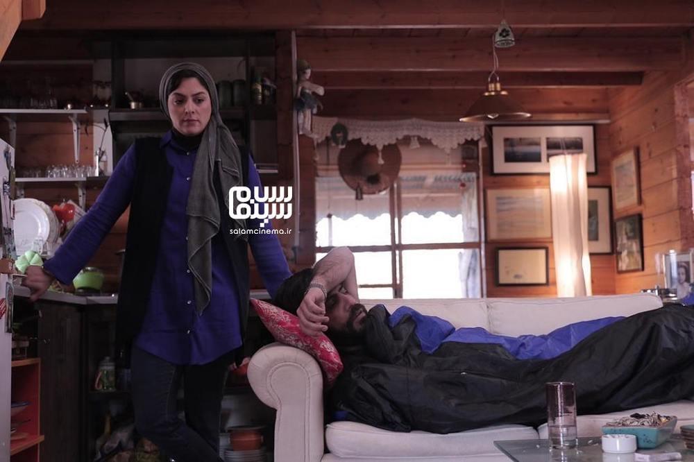 مارال بنی آدم و سلمان فرخنده در فیلم «گیسوم»