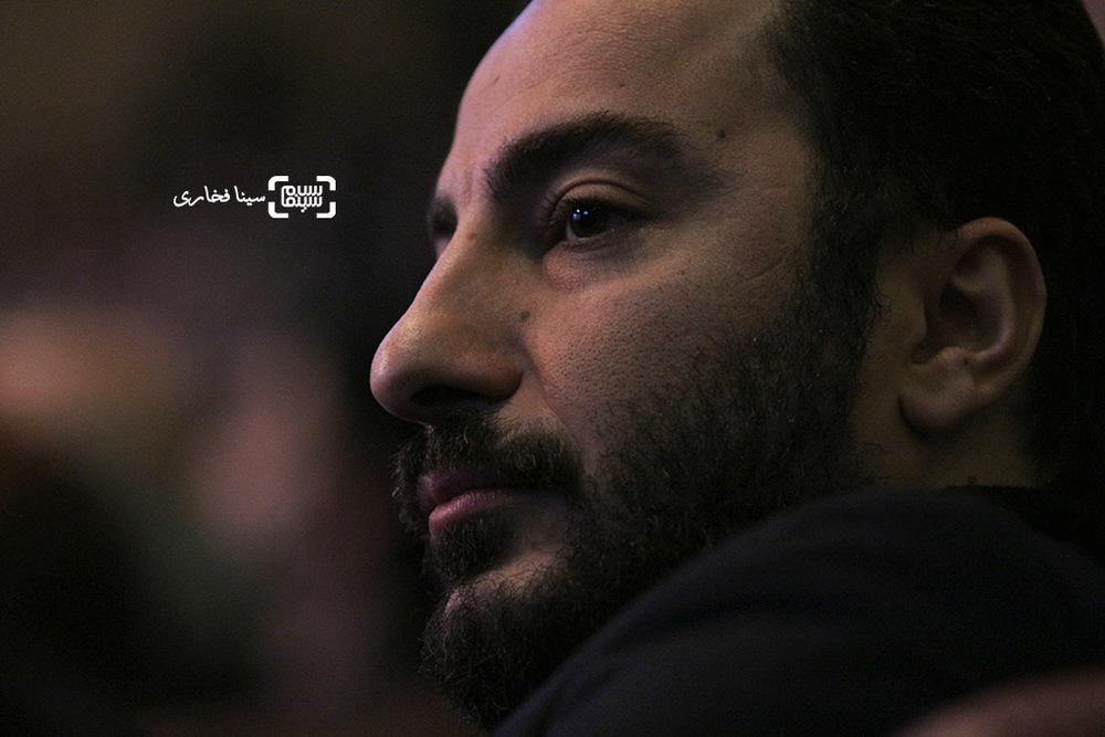 نوید محمدزاده در اختتامیه جشنواره فیلم فجر35