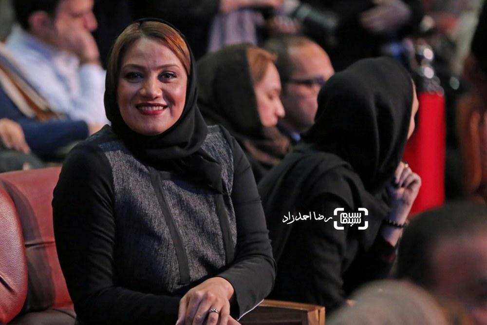 شبنم مقدمی در اختتامیه سی و پنجمین جشنواره فیلم فجر