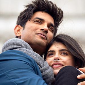 سوشانت سینگ راجپوت و سنجانا سنگی در فیلم «دل بیچاره» (Dil Bechara)