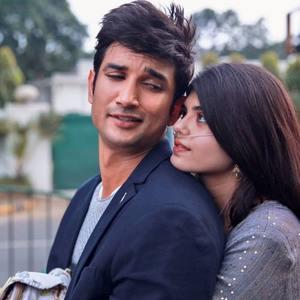 سوشانت سینگ راجپوت و سنجانا سنگی در «دل بیچاره» (Dil Bechara)