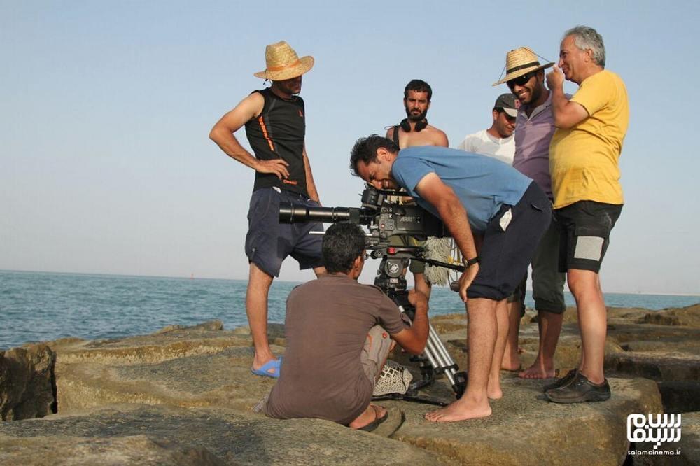احسان عبدیپور در پشت صحنه فیلم «پاپ»