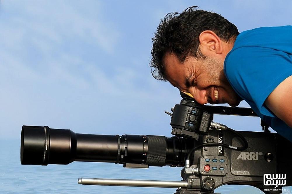 احسان عبدیپور در پشت صحنه فیلم سینمایی «پاپ»