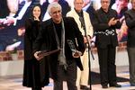 پرویز آبنار برنده سیمرغ بلورین بهترین صدابرداری برای فیلم «فراری» در اختتامیه سی و پنجمین جشنواره فیلم فجر