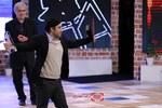 محسن تنابنده برنده سیمرغ بلورین بهترین بازیگر مرد برای فیلم «فراری» در اختتامیه سی و پنجمین جشنواره فیلم فجر