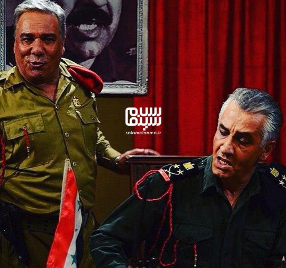 جمشید جهانزاده کشکولی و اکبر سنگی در فیلم «یوسف هور»