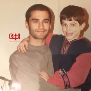 رامبد جوان و آرش نادی در پشت صحنه سریال «خانه سبز»