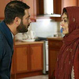 شقایق فراهانی و پژمان بازغی در فیلم «افسونگر»