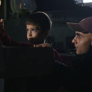 پشت صحنه فیلم «مهاجر کوچولو»